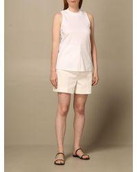 Sportmax Short - Blanc