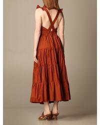 Hanita Dress - Brown