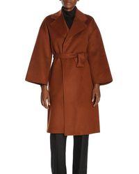 Theory Coat Women - Brown