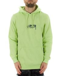 a3295d81cd1e Lyst - Stussy Embroidered Sweatshirt in Black for Men