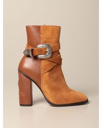 Tommy Hilfiger Heeled Booties - Brown