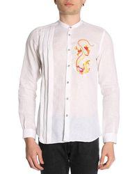Alessandro Dell'acqua Shirt Men - White