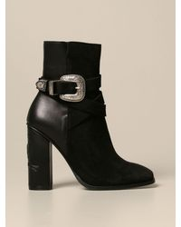 Tommy Hilfiger Heeled Booties - Black