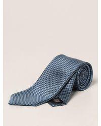 Ermenegildo Zegna Cravate - Bleu