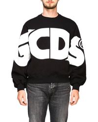 Gcds 'new Macro Logo' Sweatshirt - Black