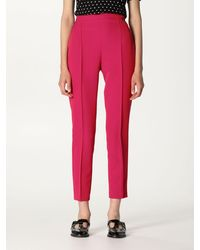 Twin Set Trousers - Red