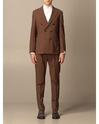 Eleventy Suit - Brown