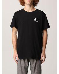 Étoile Isabel Marant Tshirt zafferh in cotone con logo - Bianco