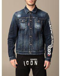 DSquared² Jacket - Blue