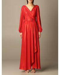Hanita Dress - Red
