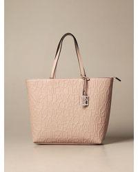 Armani Exchange Tote Bags - Natural