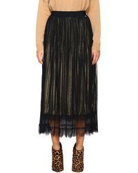 Twin Set Women's Skirt - Metallic