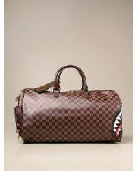 Sprayground Travel Bag - Brown