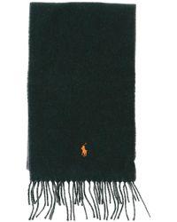 Polo Ralph Lauren - Scarf In Bicolor Wool - Lyst