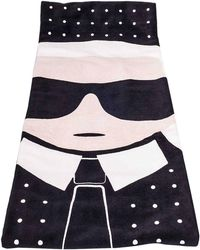 Karl Lagerfeld Beach Towel Women - Black