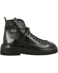Marsèll Pedula Parruccona Boots In Leather - Black