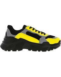 Balmain Leather Men's Suede High top Zipper Sneakers for Men