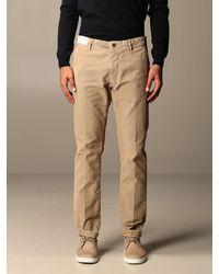 Incotex Trousers - Natural