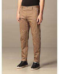 Les Hommes Pantalone con tasche con zip - Neutro