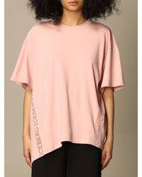 Iceberg Camiseta - Rosa