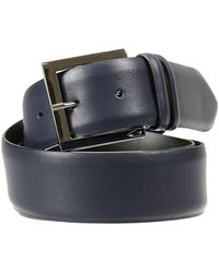 Alberto Guardiani Classic Belt Leather - Black