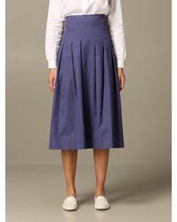 Alpha Studio Skirt - Blue