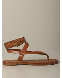 MICHAEL Michael Kors Flat Sandals - Brown