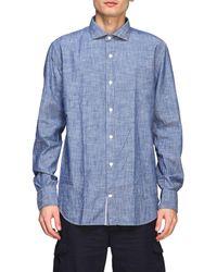 Eleventy - Men's Shirt - Lyst