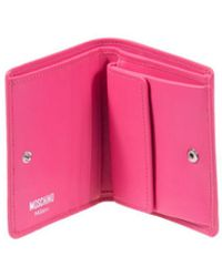 Moschino Wallet - Pink