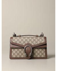 Gucci - Dionysus gg Supreme Bag With Shoulder Strap - Lyst