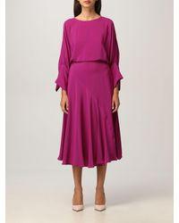Erika Cavallini Semi Couture Robes - Violet