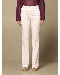 Manila Grace Pantalon - Blanc