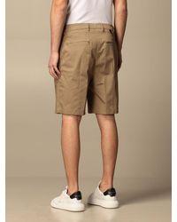 Low Brand Pantaloncino con tasche a filo - Grigio