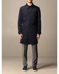 HUGO Trench Coat - Blue