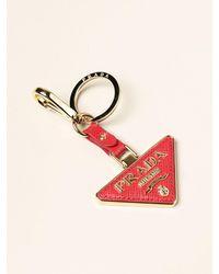 Prada Key Chain - Red