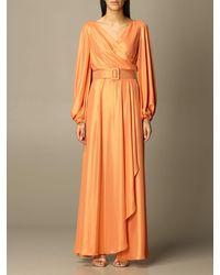 Hanita Dress - Orange