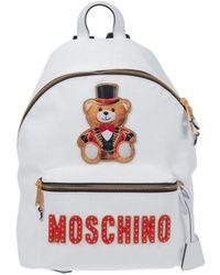 Moschino Backpack - White