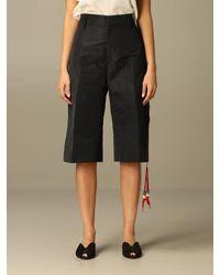 N°21 Short - Black