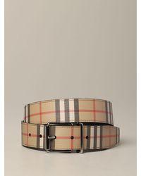 Burberry Belt - Natural