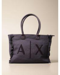 Armani Exchange Shoulder Bag - Blue