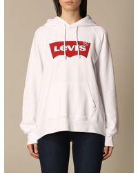 Levi's Sweatshirt - White