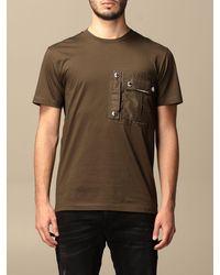Les Hommes T-shirt - Vert