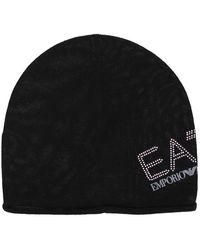 EA7 Women's Hat Ea7 - Black