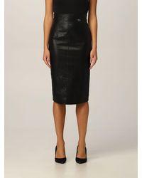 Twin Set Skirt - Black