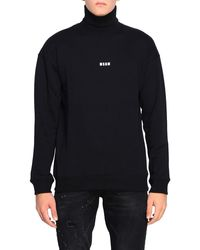 MSGM Men's Sweatshirt - Black