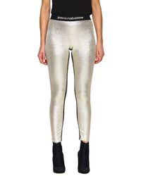 Paco Rabanne Women's Trousers - Metallic