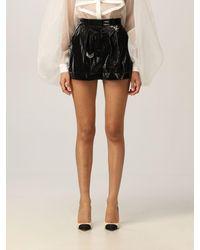 Elisabetta Franchi Pantalones cortos - Negro