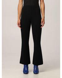 Theory Pantalone donna colore - Nero