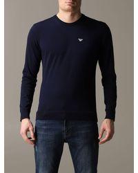 Emporio Armani Sweater - Blue