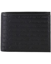 Armani Jeans Wallet Men - Black
